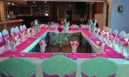 Sample Table Arrangment.