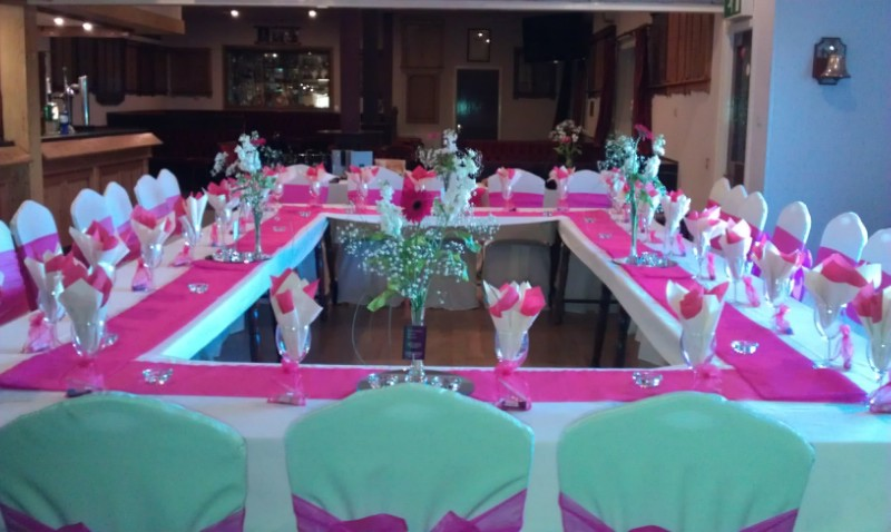 Example Table Layout For A Ladies Dinner Function